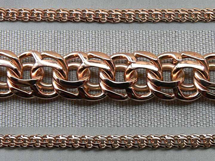Плетение бисмарк золото - фото, цепочки, браслеты, цены, виды: женские